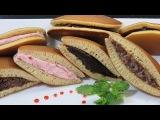 ☀ДОРАЯКИ☀ Японские блины с начинкой из пасты АНКО Японская кухня cách làm bánh rán DOR...