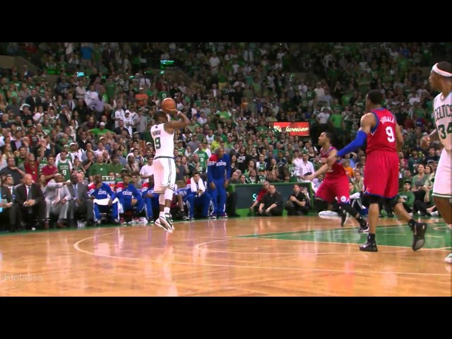 Rajon Rondo triple-double (13PTS,12Reb, 17AST) vs 76ers full highlights (2012 NBA Playoffs CSF GM1)