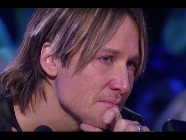 Keith Urban Falling Apart on Kelly Clarkson's Emotional Performance On Idol