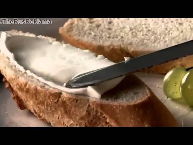 Реклама Президент - Масло для тех кто разбирается в еде