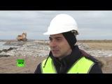Строители моста через Керченский пролив поделились впечатлениями о работе на «стройке века»