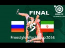 World Cup 2016_Final - Russia vs Iran - Freestyle wrestling