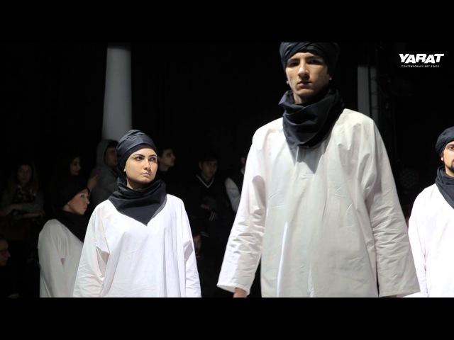 Баку. 17-26 февраля 2016. Динамическая инсталляция «BUTA»