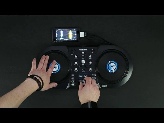 Numark iDJ Live DJ Controller for djay by Algoriddim - Scratch Session