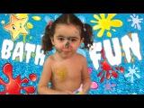 Распаковка Bath Fun играем в ванной Open toy and Play in bath Kids video видео для детей