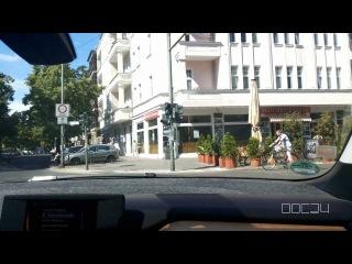Поездка по Берлину на электромобиле bmw i3. Автопрокат в Германии.