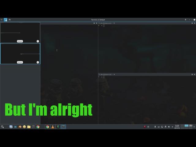 Terminix on Plasma 5.6 @ Neon Project / Ubuntu Xenial (Jerk it out!)