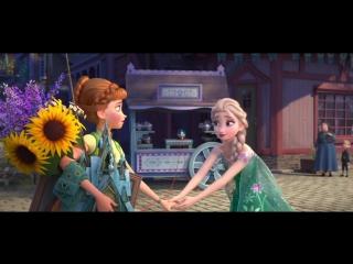Холодное торжество / Frozen Fever (2015,мультфильм,США,0+) Лицензия [дубляж] / HD720