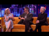 Gillian Anderson on Getting Equal Pay for the X-Files - The Jonathan Ross Show