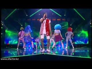 Бауыржан Жакыпбек. Love to hate you. X Factor Казахстан. 3 концерт. Эпизод 12. Сезон 6.