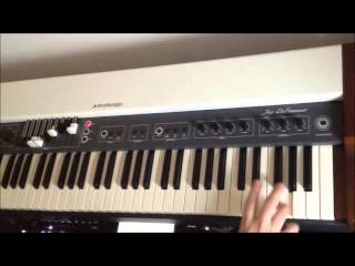 Studiologic Numa organ rock jamming by S4K Team Enrico Lorenzini ( Space4Keys Keyboard Solo )