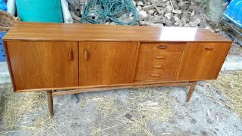 переделка деревянный комод . G plan furniture