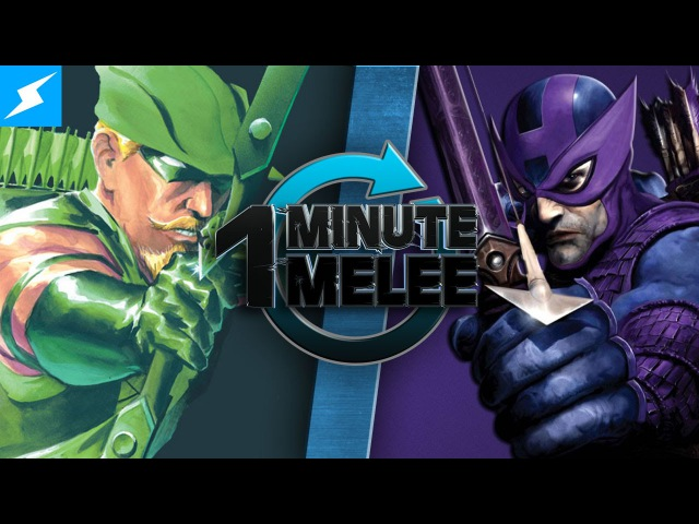 One Minute Melee - Green Arrow Vs Hawkeye