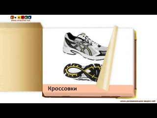 Развивающее видео КАРТОЧКИ ДОМАНА Одежда Часть 1