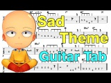 Learn How to Play One Punch Man Sad Theme Fingerstyle Acoustic Guitar Lesson TABS(Episode 9 OST)