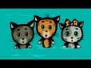 Мультики для малышей - Три котенка - Не пойдем одни к реке (1 сезон | серия 5)