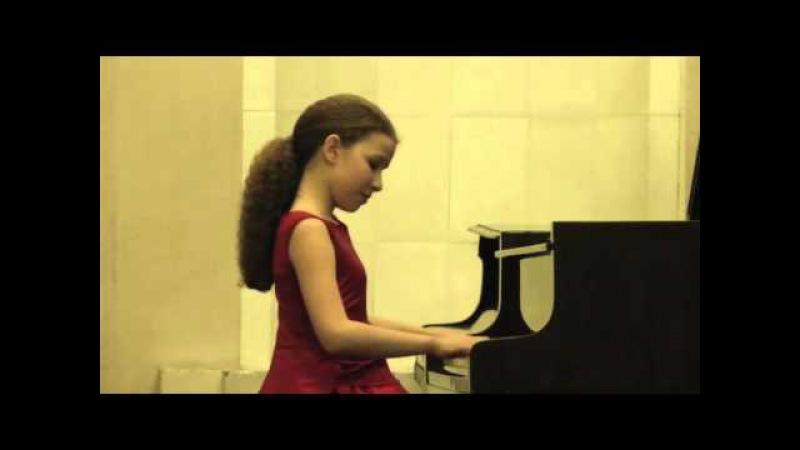 Varvara Kutuzova 12yo сольный концерт в Петербурге