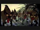 Timon and Pumba - Dance Hula Тимон и Пумба Танец Хула Отрывок из мультфильма, король лев))))