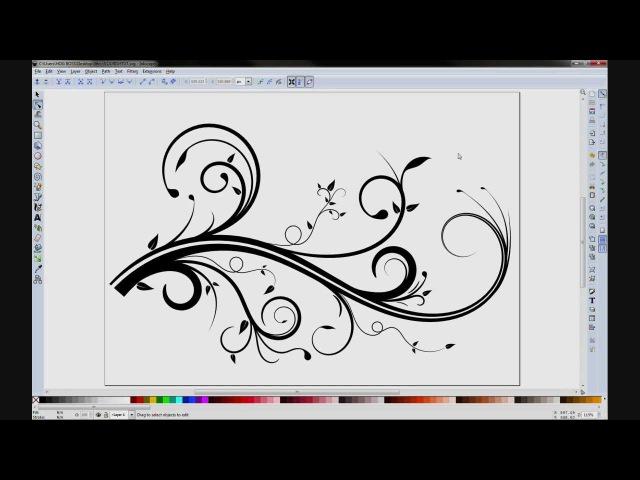 Inkscape Flourish