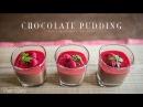 ヘルシーで濃厚なショコラプディングの作り方:How to make Chocolate Pudding   Veggie Dishes by Peaceful Cuisine