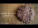 バレンタインに焼きたいチョコレートクッキーの作り方:How to make Chocolate Cookies   Veggie Dishes b