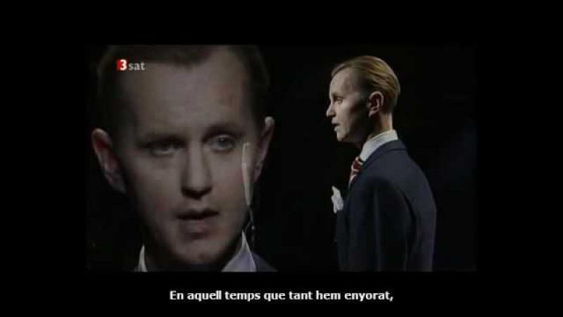 Max Raabe En Veu Alta Cançons de Brecht La Balada del pinxo