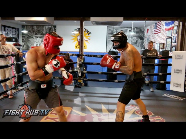 Jose Benavidez Jr. putting in hard sparring wSergey Lipinets ahead of July 23rd fight