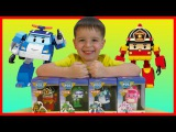 Unboxing and review toys Robocar Poli
