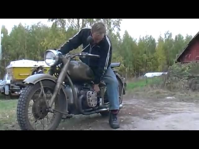Мотоцикл Урал 1952