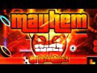 Geometry Dash - Mayhem 100% GAMEPLAY Online (Lazerblitz) MEDIUM DEMON