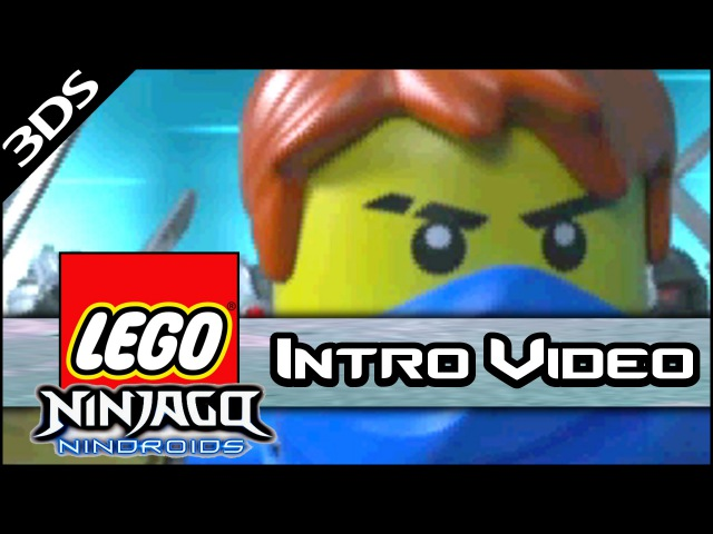 Lego Ninjago: Nindroids - Intro Cutscene Video (3DS Gameplay) нинзяго
