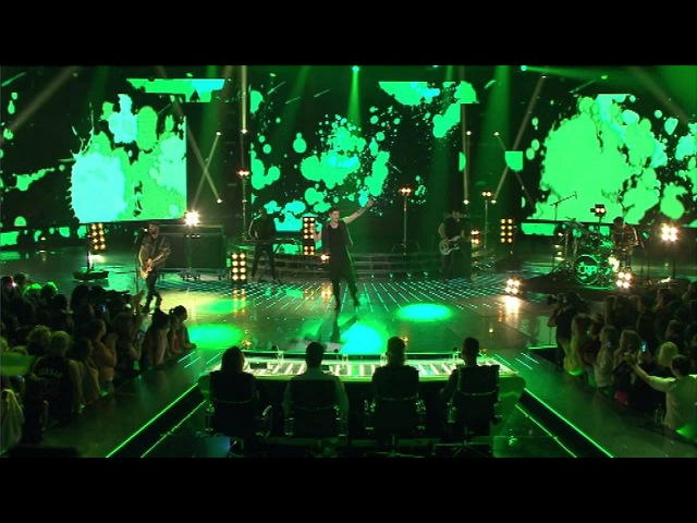 The Script performs Paint The Town Green - The X Factor NZ on TV3 - 2015