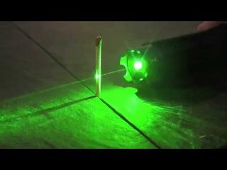 Мощная зеленая лазерная указка, зеленый лазер 1000mW
