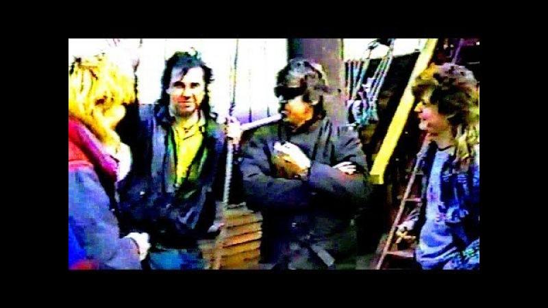 КРИСТИНА Corp. (снег на розах) КЛИП с музыкантами группы ©