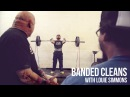 Banded Cleans w/ Louie Simmons of Westside Barbell
