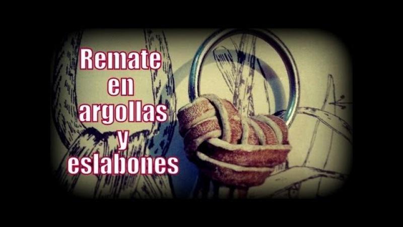 Remate en argollas y eslabones El Rincón del Soguero