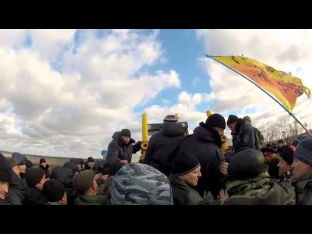 Столкновения на Еланском никелевом месторождении в Прихоперье 18.11.2013
