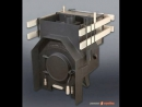 Баня печь компоновка чертежи схемы / Sauna stove circuit layout drawings