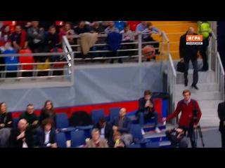 ЦСКА - Бамберг (Евролига 2015-2016, топ 16) 5 тур