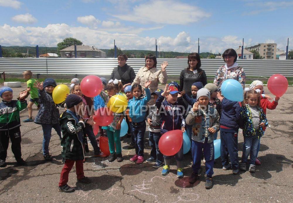 Маленькие жители станицы Зеленчукской попали в «Солнечный город детства»