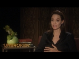 Несломленный/Unbroken (2014) Интервью с Анджелиной Джоли (русские субтитры)