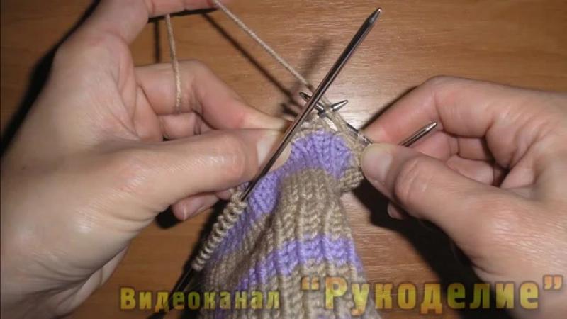Как вязать перчатки. Вязание перчаток с узором спицами. Часть 1