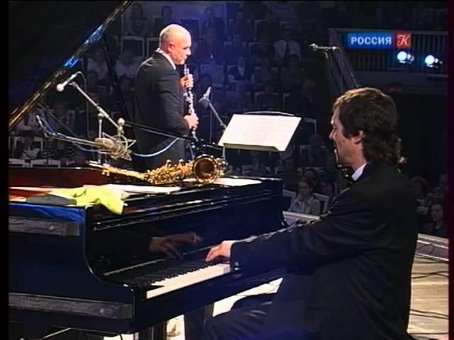 Симфоджаз братьев Ивановых, соло Сергея Мазаева