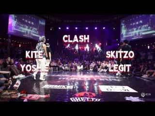 Skitzo Legit VS Kite Yoshie | step 1 CLASH | Fusion concept 2016