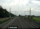 200km/h z kabiny / 200km/h - train cab view.