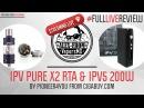 Pioneer4You iPV Pure X2 RTA iPV5 200W Black | from cigabuy