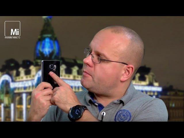Samsung Galaxy Note 5. ЗА и ПРОТИВ «оперенного» edge наизнанку.