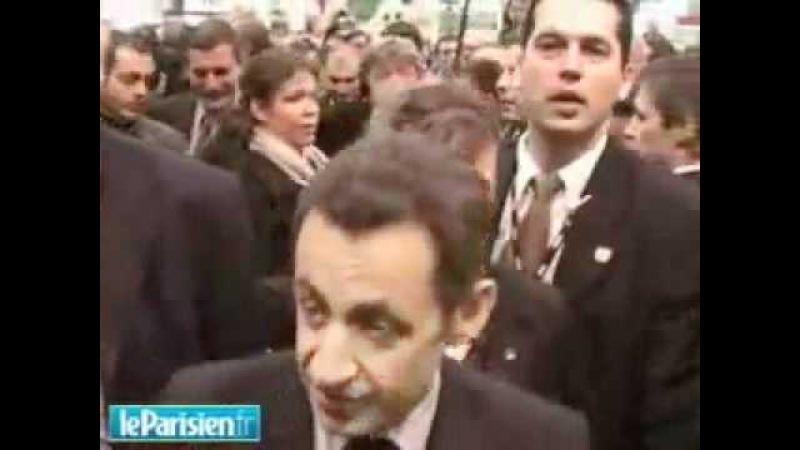 Casse toi pauv con ! Nicolas Sarkozy