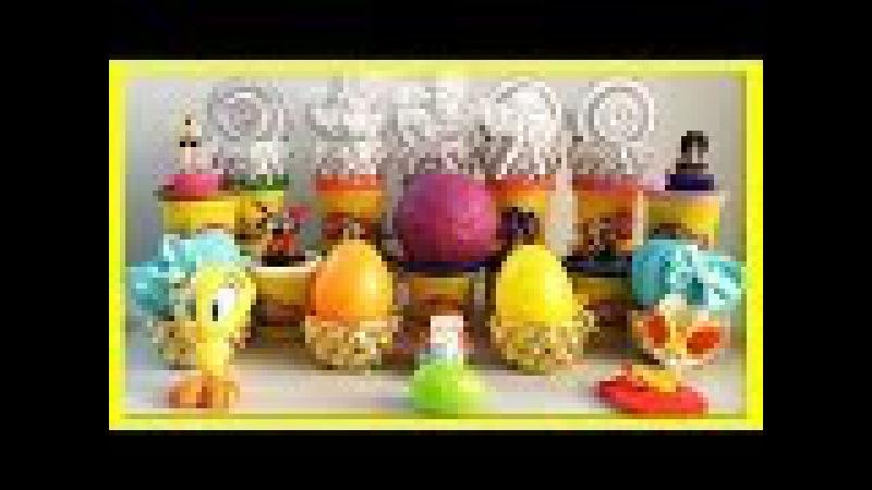 Play Doh Surprise Balls | Play-Doh Surprise Toys, Eggs Surprise Animals | Toy Videos For Kids.