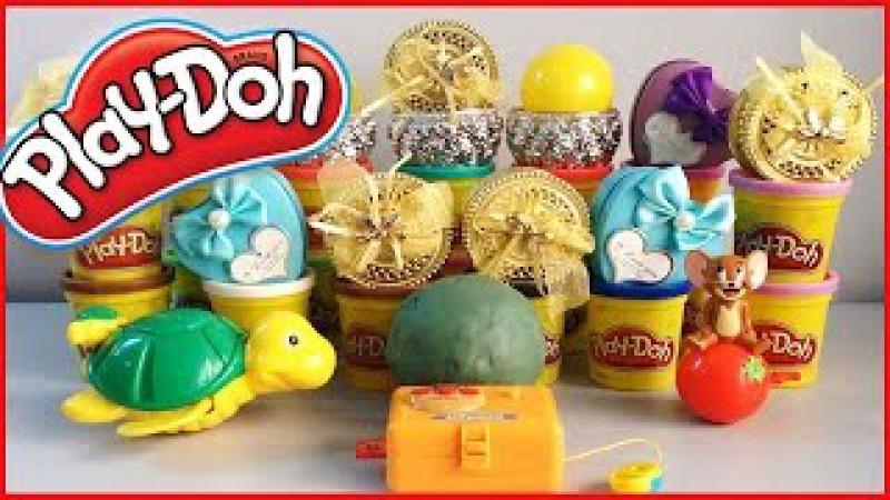 Play Doh Surprise Eggs Play-Doh Surprise Balls Egg Surprise Toys For Kids Videos playdough Surprise